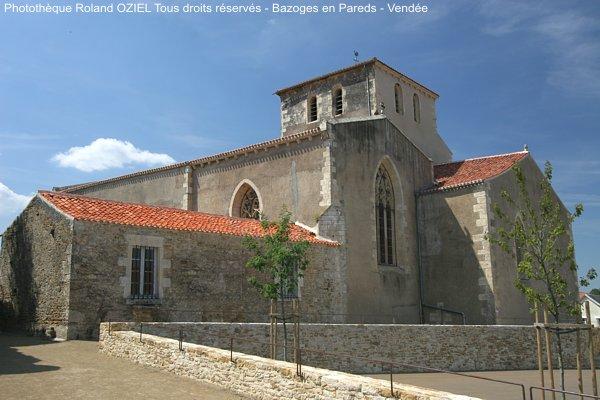 Eglise de Bazoges en Pareds