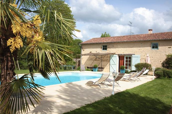 Gite avec piscine privée en Vendée