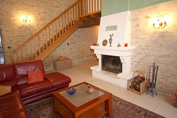 Gite avec cheminée en Vendée